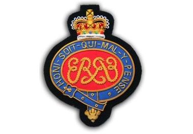 Grenadier Guards Bullion Wire Blazer Badge
