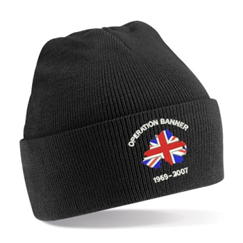 Operation Banner Beanie Hat