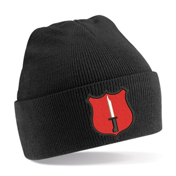 British Army Infantry Shield Beanie Hat